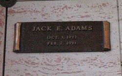 Jack E Adams
