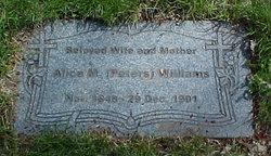Alice M. <i>Peters</i> Williams