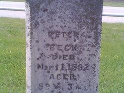 Peter Hube Beck