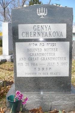 Genya <i>Armanovsky</i> Chernyakova