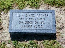 Elma <i>Binns</i> Barnes