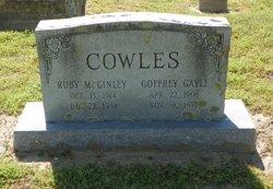 Goffrey Gayle Cowles