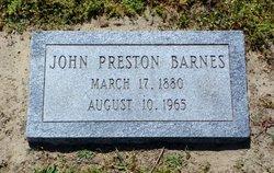 John Preston Barnes