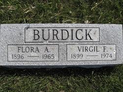 Flora Anna <i>Stumborg</i> Burdick
