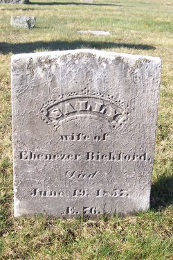 Sally <i>Hill</i> Bickford