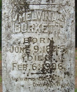 Melvina M. Mourning <i>Pittman</i> Burkett