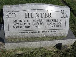 Minnie G. <i>Fusselman</i> Hunter