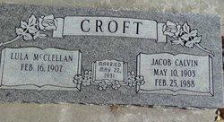 Lula <i>McClellan</i> Croft