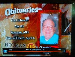 Carl Herman Buster Johnson