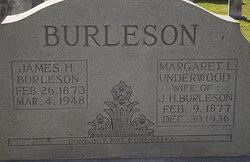 Margaret L <i>Underwood</i> Burleson