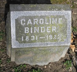 Caroline <i>Pfitzenmaier</i> Binder
