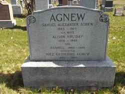 Alison <i>Holiday</i> Agnew