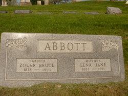 Lena Jane <i>Hill</i> Abbott