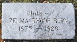 Zelma Marie <i>Rhode</i> Born