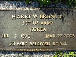 Harry Walter Bruns, Jr