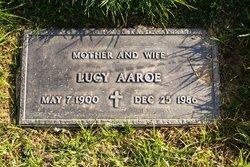 Lucy Ermish <i>Wolter</i> Aaroe