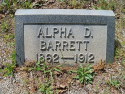 Alpha D. Barrett