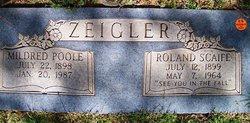 Mildred <i>Poole</i> Zeigler
