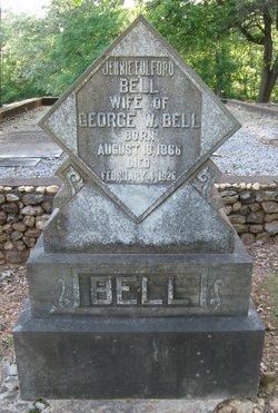 Jennie <i>Fulford</i> Bell