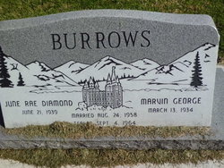 June Rae <i>Diamond</i> Burrows