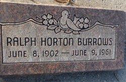 Ralph Horton Burrows
