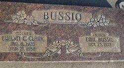 Evelyn C <i>Clark</i> Bussio
