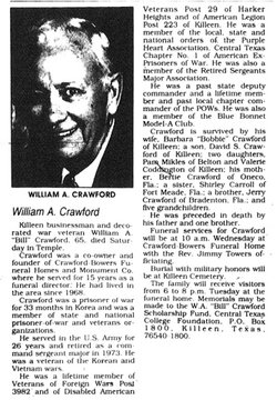 Csm William Albert 'Bill' Crawford