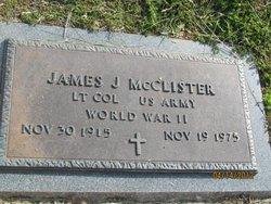 James J McClister