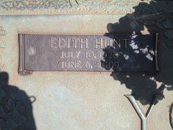 Edith Veigh <i>Hunt</i> Young