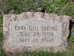 Edna Myrtle <i>Geis</i> Freund