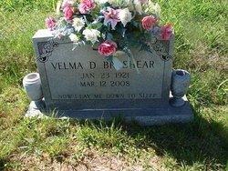 Velma <i>Davidson</i> Brashear