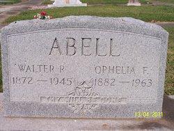 Walter R Abell