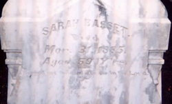 Mrs Sarah <i>Gwin</i> Basset