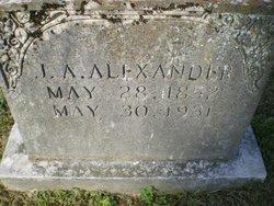 J. A. Alexander