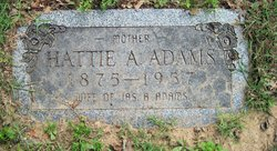 Hattie A Adams