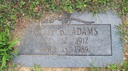 Lollie B Adams