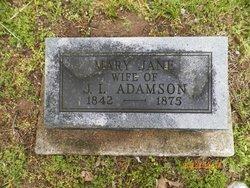Mary Jane <i>Thorp</i> Adamson