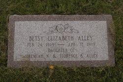 Betsy Elizabeth Alley