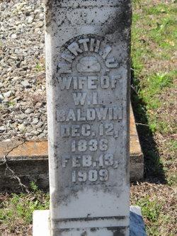 Martha Jane <i>Gilmore</i> Baldwin
