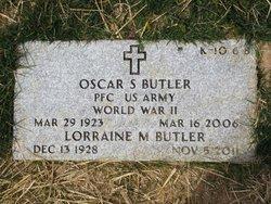 Oscar S Butler