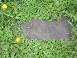Emma Alice <i>Wells</i> Gaskill