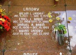 Ethel <i>Landry</i> Babin