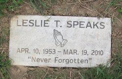 Leslie T. Butch Speaks