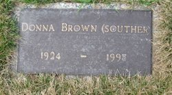 Donna <i>Souther</i> Brown