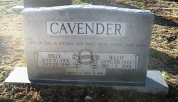 Billie Joyce <i>Simpson</i> Cavender