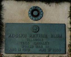 Adolph Arthur Blum