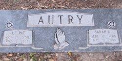 Sarah Angeline <i>Earp</i> Autry
