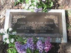 Doris Jean <i>Mann</i> Allen