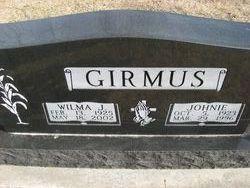 Wilma Jean <i>Kimbrough</i> Girmus