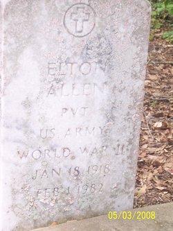 Pvt Elton Allen